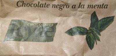 Chocolate negro con menta - Producto