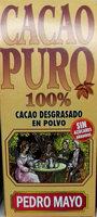 Cacao Puro 100% - Producto