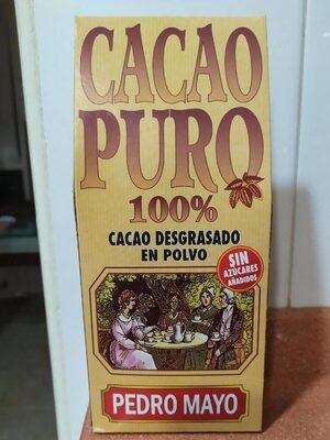 Cacao puro 100% desgrasado - Producte - es