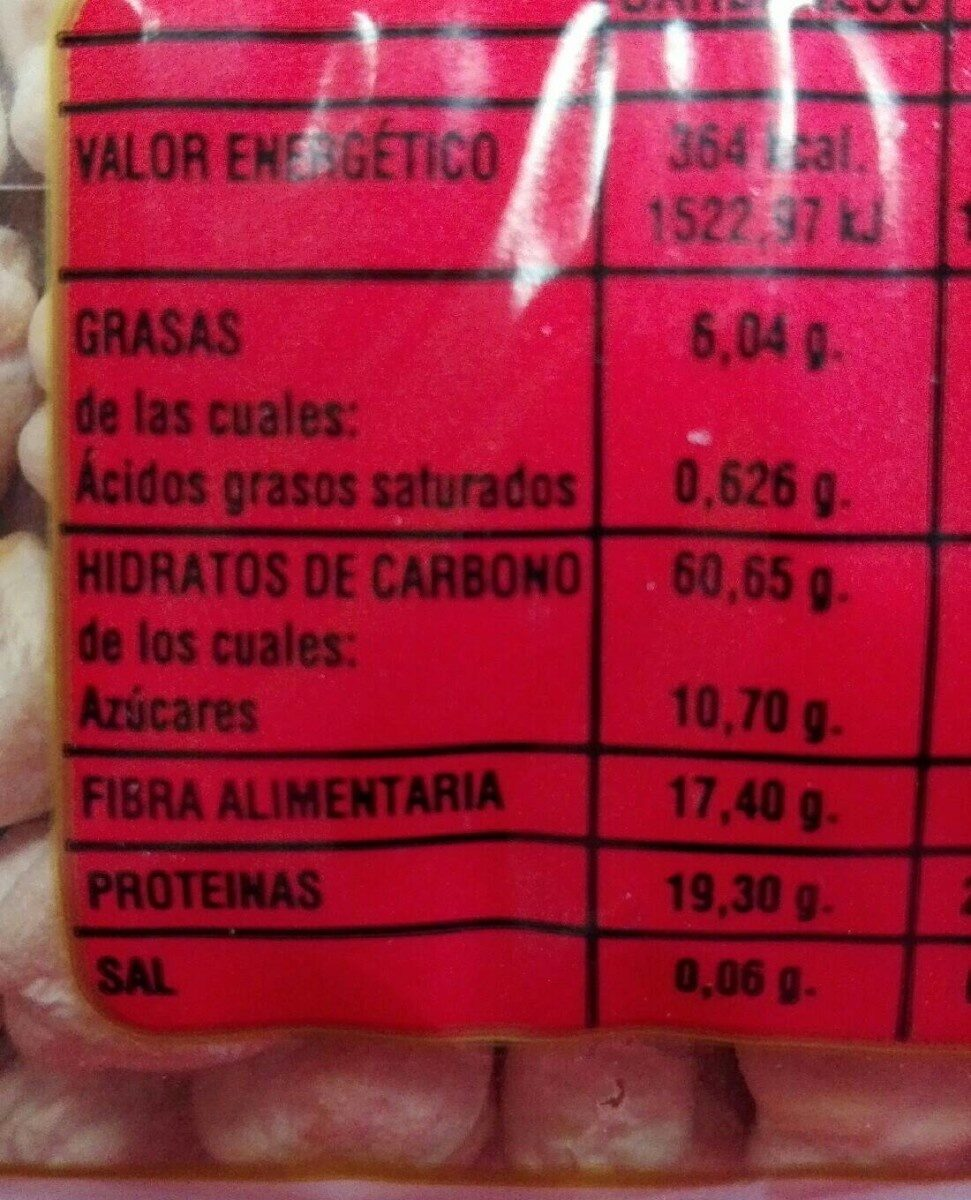 Flor de Sauco - Nutrition facts