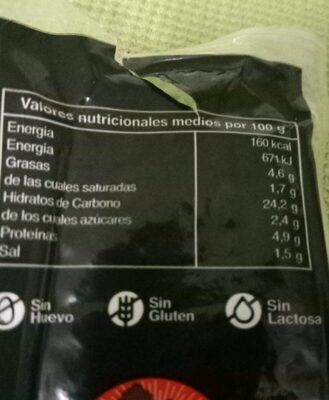 Morcilla de Aranda - Nutrition facts