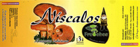 Níscalos - Informations nutritionnelles - es