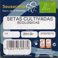 "Setas de ostra ecológicas ""Sousacamp"" - Ingredients - es"