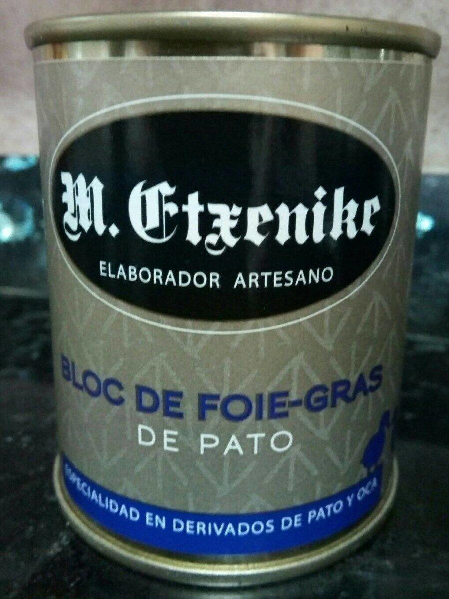 Bloc de foie-gras de pato - Product