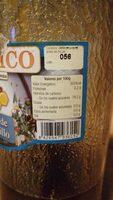 Miel de tomillo - Información nutricional - es
