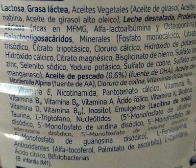 Optimum 1 - Ingredients - es