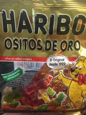 Ositos D'oro 100 GRS Estuche 18 Bolsas - Producto - fr