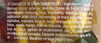 Ositos D'oro 100 GRS Estuche 18 Bolsas - Ingredientes - fr