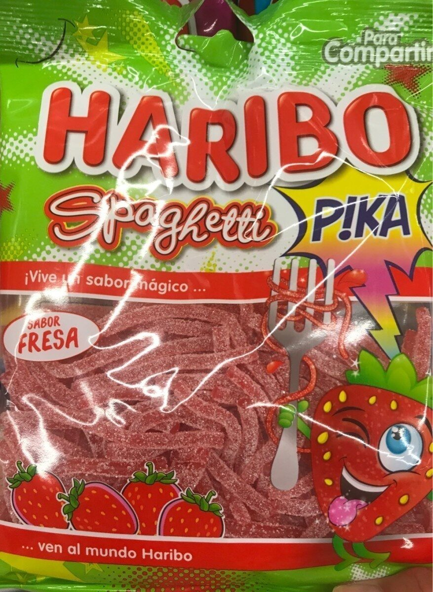 haribo spaghetti goût fraise - Produit - fr