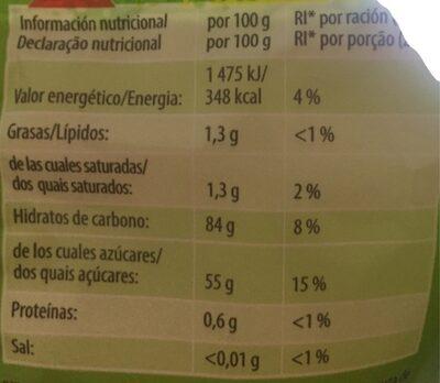 haribo spaghetti goût fraise - Informations nutritionnelles - fr