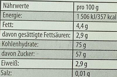 Balla Stixx Erdbeere - Nutrition facts