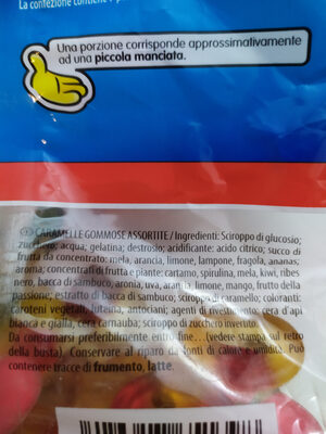 Haribo Starmix - Ingrédients - it