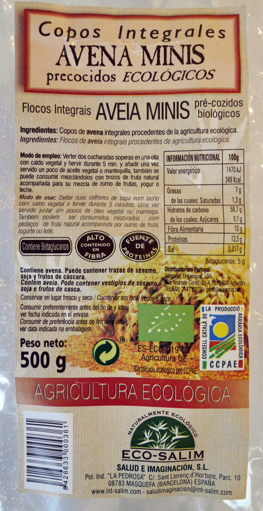 Oat flakes - Producto