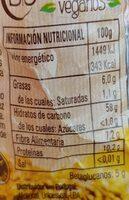 Oat flakes - Informació nutricional