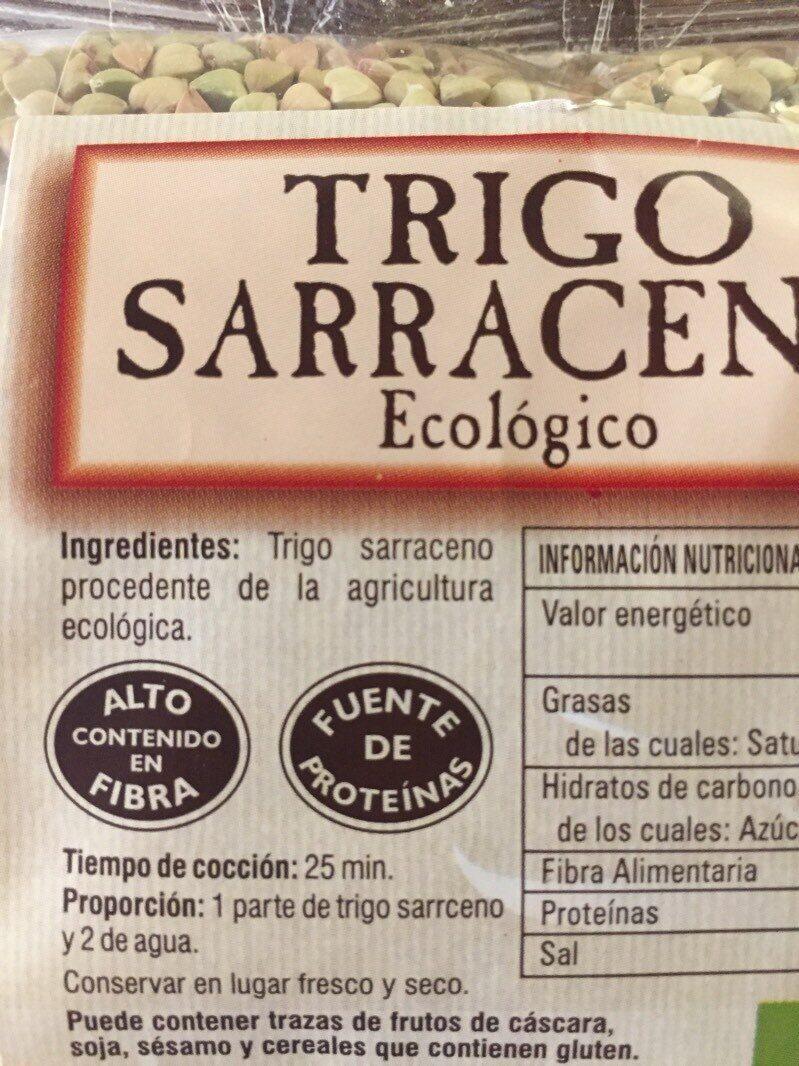Trigo Sarraceno - Ingredients