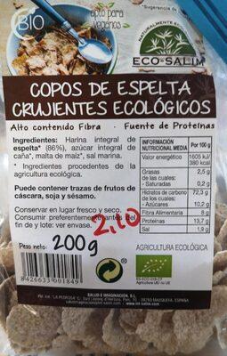 Copos espelta crujientes ecológicos - Produit - es