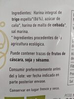 Copos espelta crujientes ecológicos - Ingrédients - es