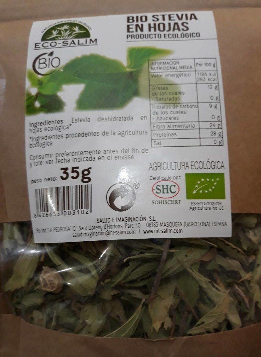 Bio stevia en hojas - Producto - es