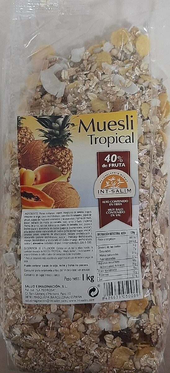 Muesli tropical - Prodotto - es