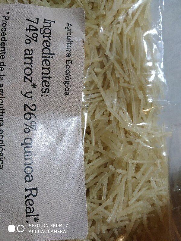 Fideos Andinos - Ingredients - es