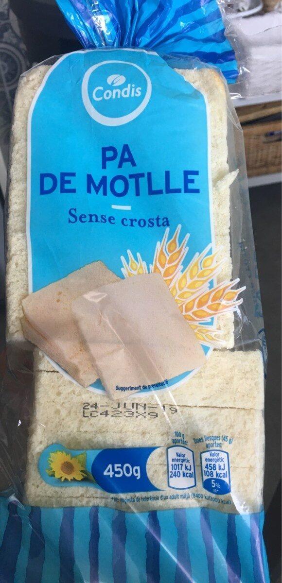 PA DE MOTLLE - sense crosta - Producte