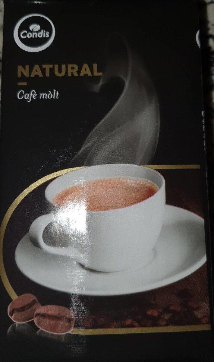 Café molt natural - Product