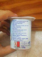 Yogurt Natural - Ingredientes - es