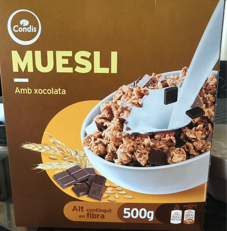 Cereals Condis Muesli Xoco - Producte - fr