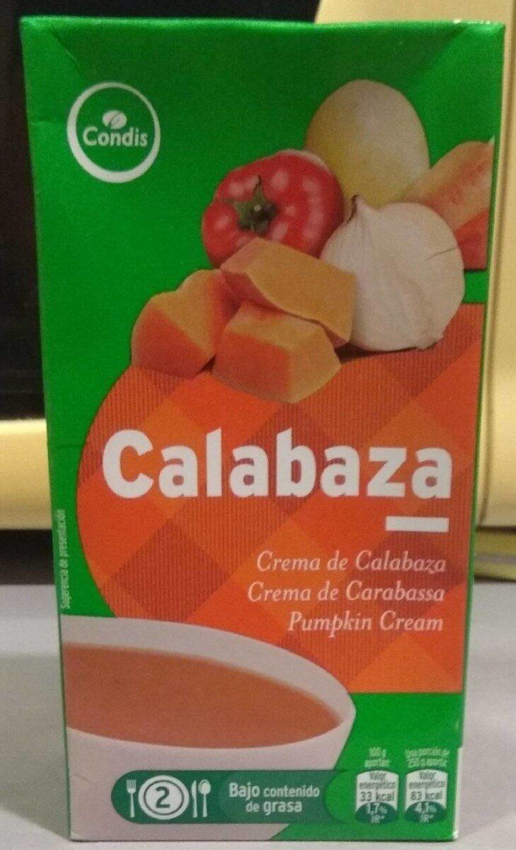 Crema de calabaza - Produit - en
