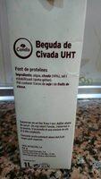 Beguda de civada - Ingredients