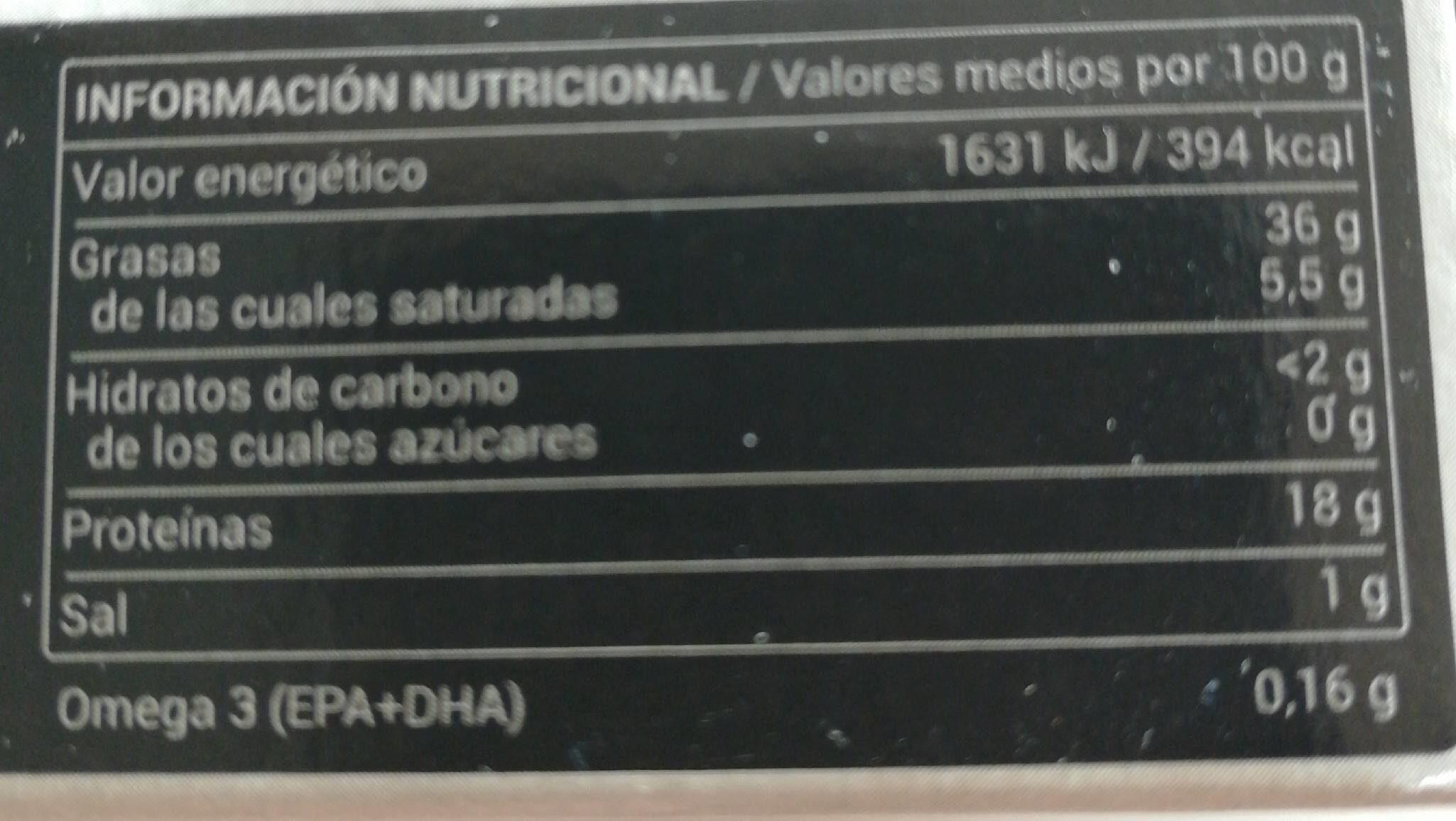 Atun claro en aceite de oliva - Nutrition facts - es