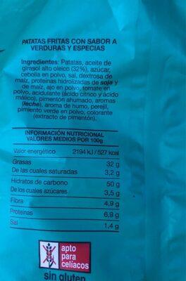 Sabor receta campesina - Nutrition facts - es