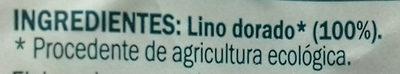 Lino dorado - Ingredients - es