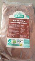 Cacao puro semidesgrasado - Produit - es
