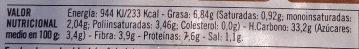 Hamburguesas vegetales champiñones - Informació nutricional - es