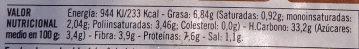Hamburguesas vegetales champiñones - Nutrition facts