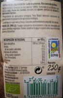 Lino marrón - Informations nutritionnelles - es