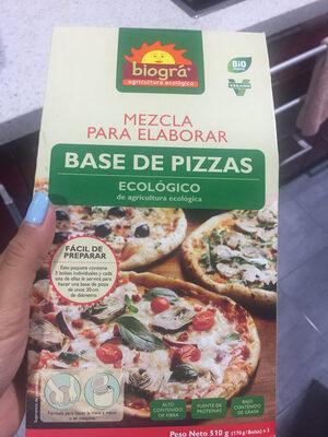 Base de pizzas - Producto