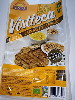 Vistteca Cereales y Semillas (filete vegetal) - Producte