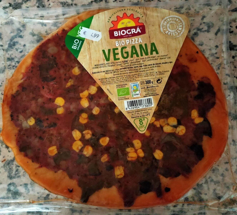 Bio pizza vegana - Producto