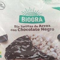 Bio tortitas de arroz con chocolate negro - Prodotto - es