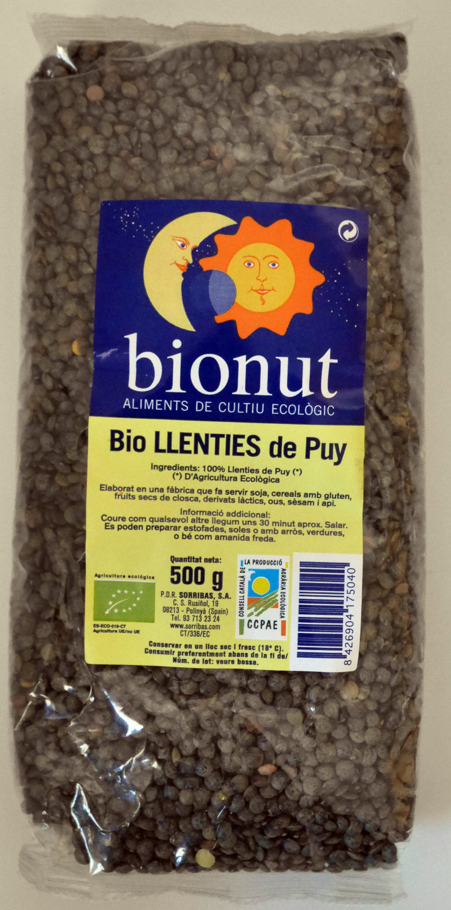 Bio llenties de Puy - Producto - ca
