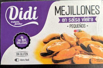 Mejillones en salsa vieira - Product - fr