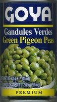 Gandules verdes en conserva - Producto - es