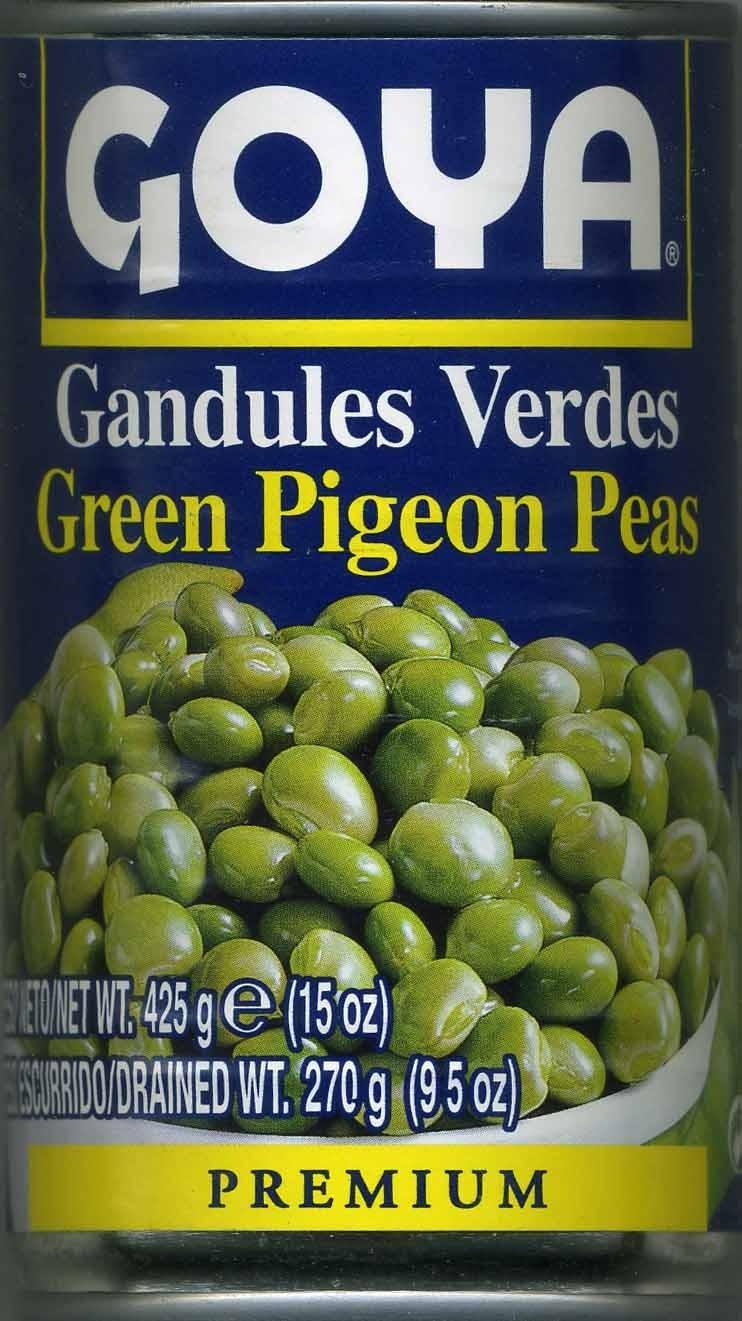 Gandules verdes en conserva - Product - es
