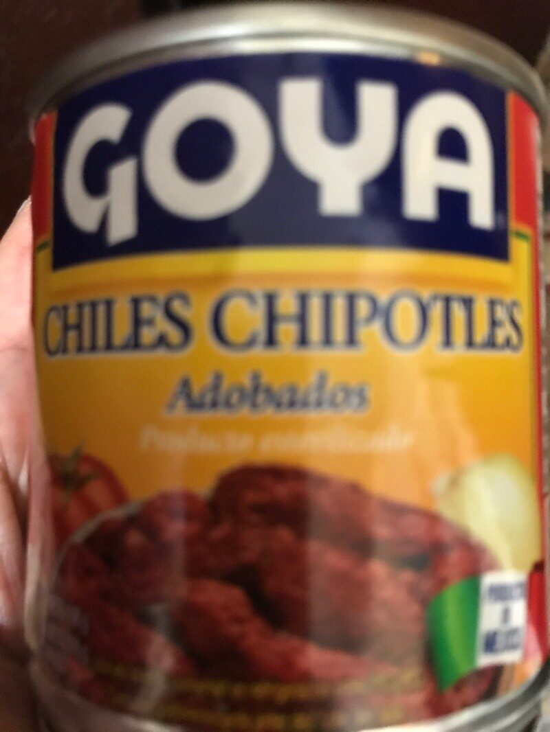 Chiles chipotles goya - Product