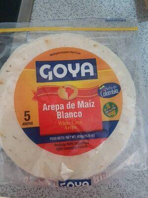 Arepa de Maíz Blanco