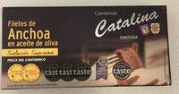 Anchoas en aceite de oliva - Product - es