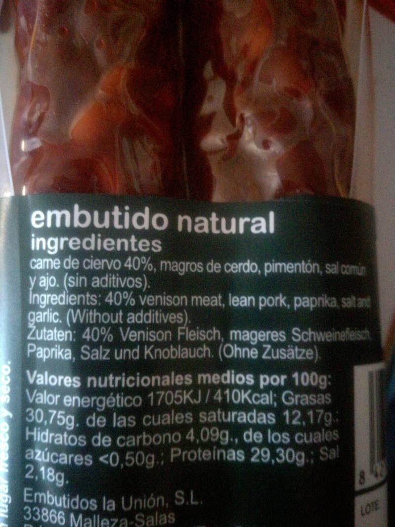 - Ingrédients - es