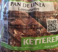 Pan de Linaza - Ingrédients